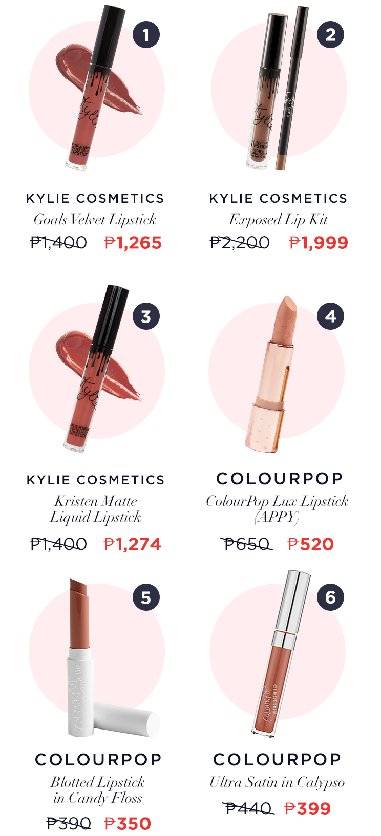 Its Lipstick Week Heres A List Of All Our Freebies Discounts Kailijumei Ready Stock 2 Kylie Cosmetics Exposed Lip Kit 9 Off At P1999 Shop It Here 3 Kristen Matte Liquid