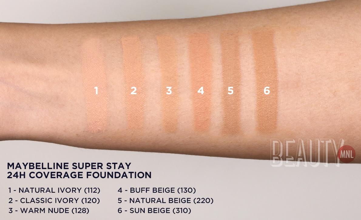 Maybelline Super Stay Makeup Shades Mugeek Vidalondon