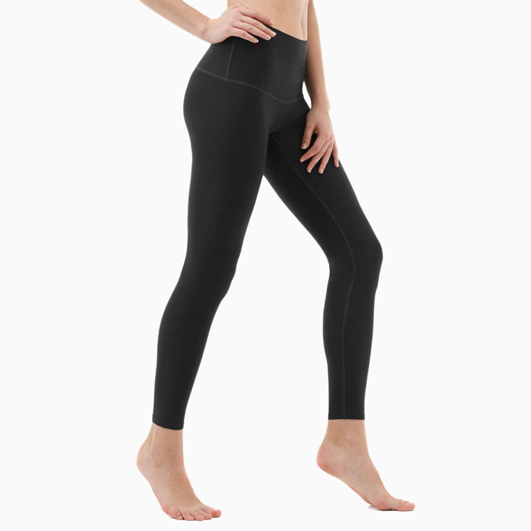 7216d929f7 The Yoga Pants High-Waist Tummy Control in Black, Tesla's own take on the  cult-famous Lululemon yoga pants.