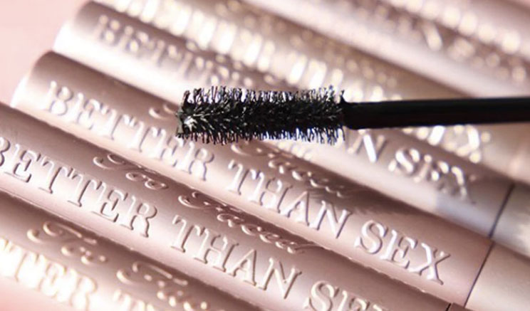 e145ca63841 It's loud, thickening, lengthening (really pays tribute to the whole cheeky  product name), and it leaves you with insanely dark, voluminous lashes.