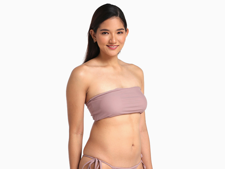 b8b2d042f17cf A tube top like Mari's helps you soak up the sun without the pesky tan  lines. And you don't have to worry about wardrobe malfunctions as this top  is padded, ...