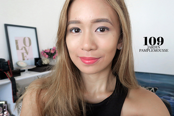 L 39 extraordinaire matte review the best liquid lipstick for L oreal jardin pamplemousse