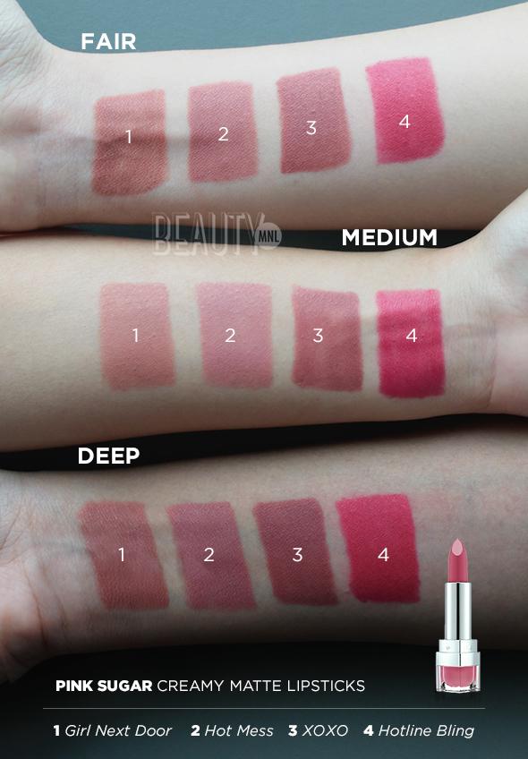 d63cbc04304 Here s the breakdown  there are four new Creamy Matte Lipsticks (three  neutrals