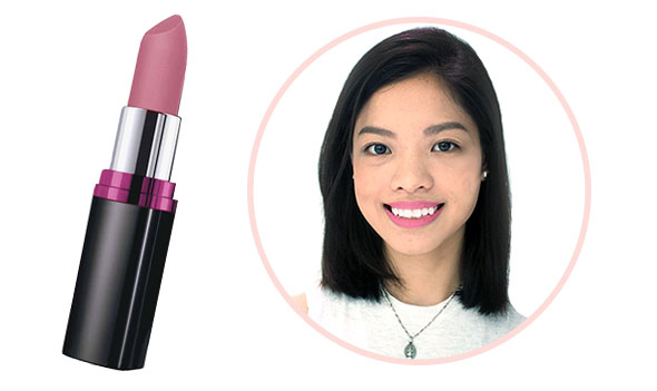 e9a26d259 Carli in Pop Of Pink THE COLOR  A dusty mauve for a soft touch of color.