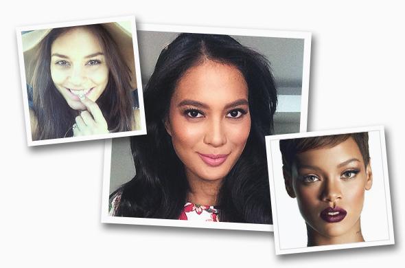 Photos: Vanessa Hudgens (@vanessahudgens, Instagram), Isabelle Daza (@isabelledaza, Instagram), Rihanna (MAC)