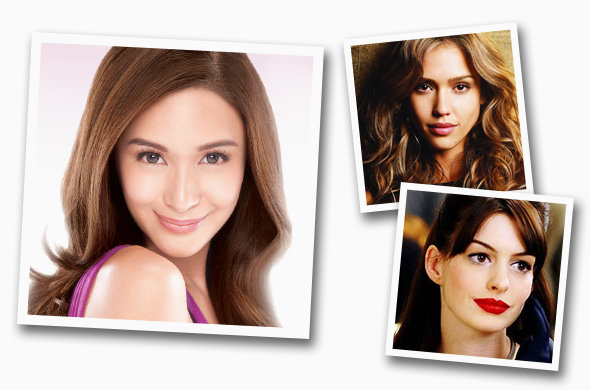 Photos: Heart Evangelista (Pond's), Jessica Alba (Revlon), Anne Hathaway (20th Century Fox)