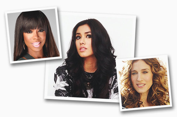 Photos: Kelly Rowland (Fox), Lauren Young (@lo_young, Instagram), Sarah Jessica Parker (HBO)