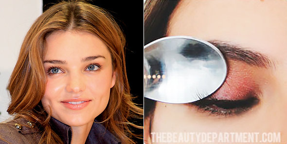 Photo of Miranda Kerr: Wikimedia Commons. Photo of spoon method: TheBeautyDepartment.com