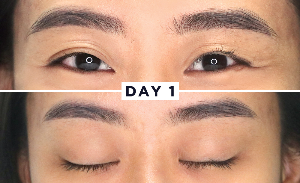 What Happens When You Use A Brow Amp Lash Serum For 1 Week
