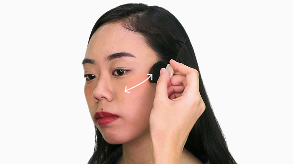 The editors answer how to give yourself a face lift with makeup bloom that said what is recommended by most makeup experts is to apply blush right above the apples of your cheeks this is the space between your under eyes and solutioingenieria Image collections