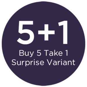 BUY 5, TAKE 1 SURPRISE VARIANT