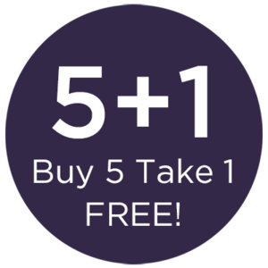 BUY 5, TAKE 1 1 PER USER