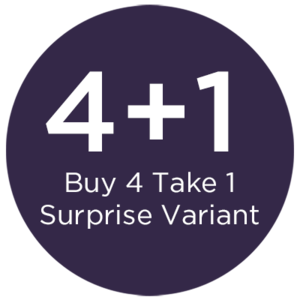 BUY 4, TAKE 1 SURPRISE VARIANT