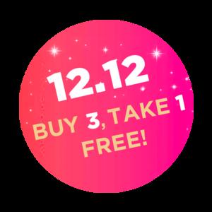 12.12 BUY 3, TAKE 1 FREE
