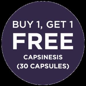 BUY 1, GET 1 FREE CAPSINESIS (30 CAPSULES)