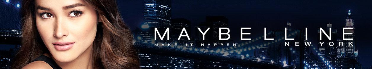 Maybelline desktop banner