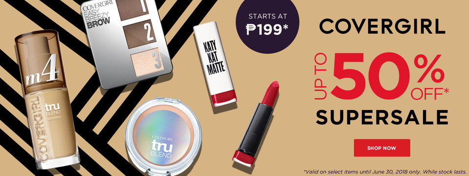 Up to 50% OFF: Covergirl