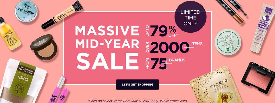 Midyear Sale: BeautyMNL