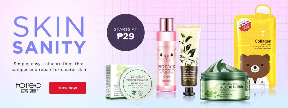 Budget Skincare Finds: Rorec