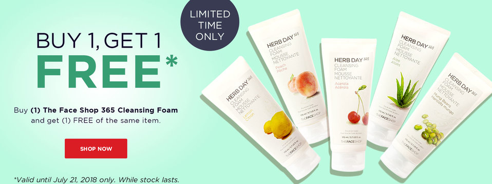 Buy 1, Take 1: The Face Shop