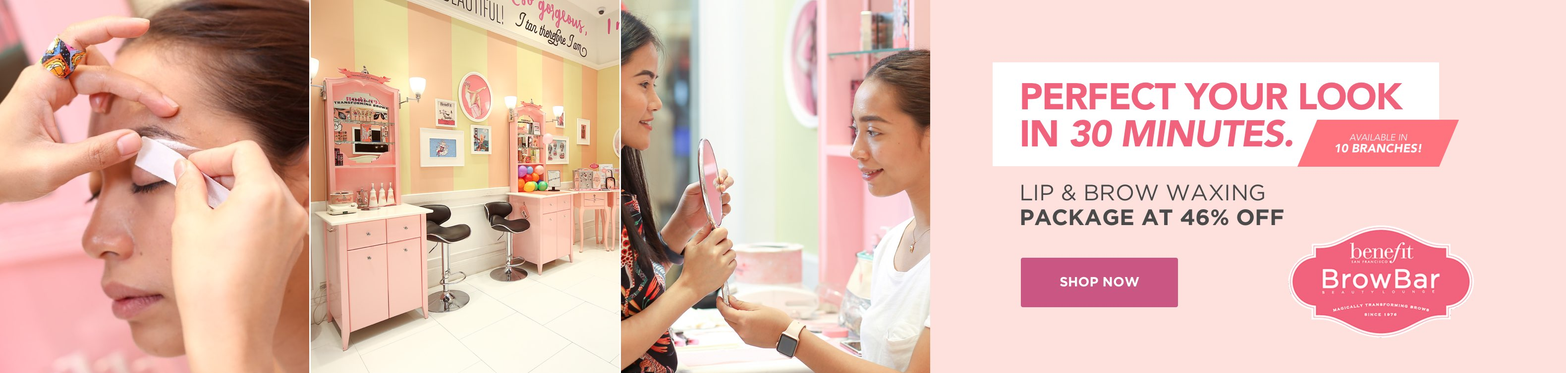 Now on BeautyMNL: Benefit Brow Bar