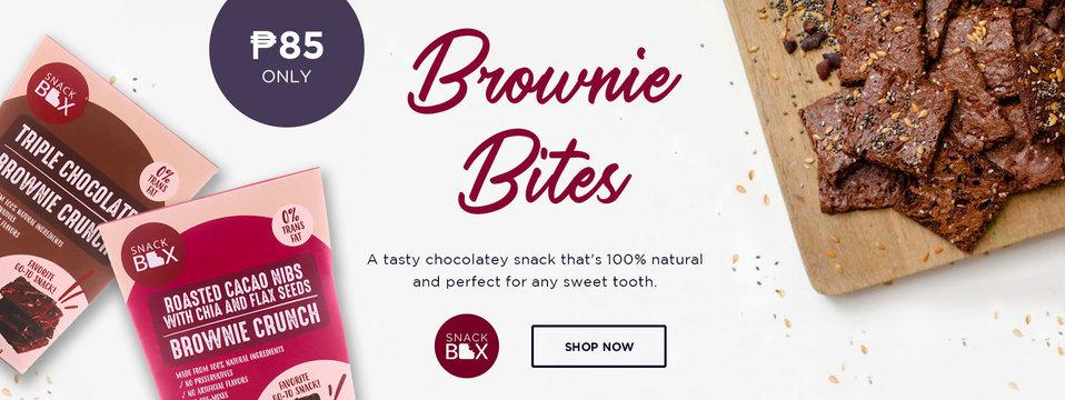 Brownie Bites: Snack Box