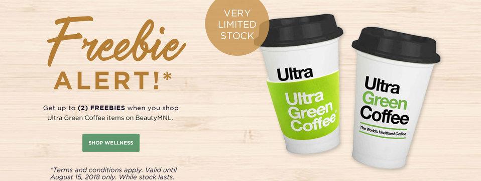 Freebie Alert!: Ultra Green Coffee