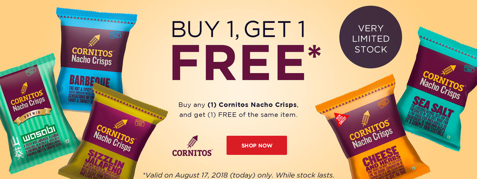 Buy 1, Take 1: Cornitos