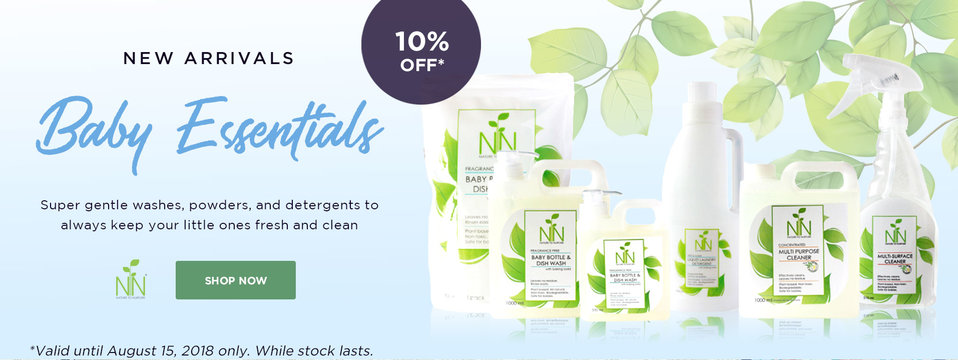 10% OFF Baby Essentials: Nature To Nurture