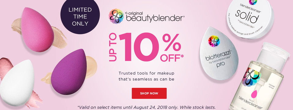 Up to 10% OFF: Beauty Blender