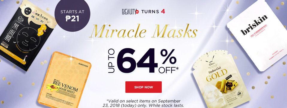 Masks On Sale: BeautyMNL