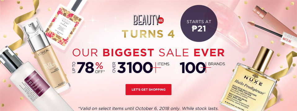 Biggest Birthday Sale!: BeautyMNL