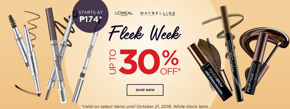 Up To 30% OFF: Maybelline
