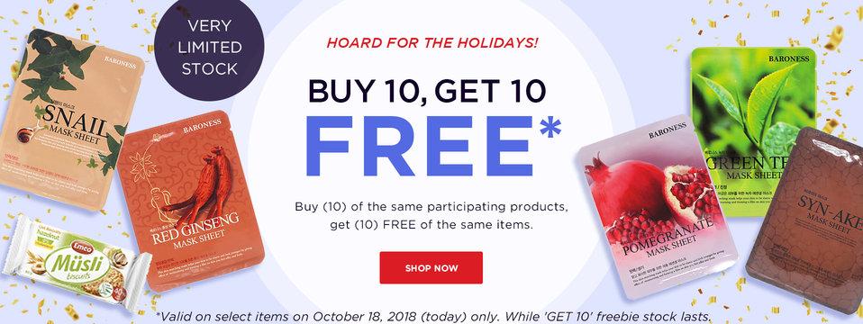 Buy 10, Take 10!: BeautyMNL