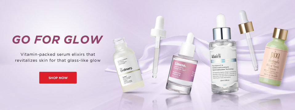 Carousel brightening serum collection
