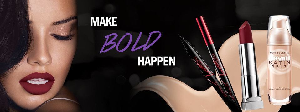 Make Bold Happen: Maybelline New York