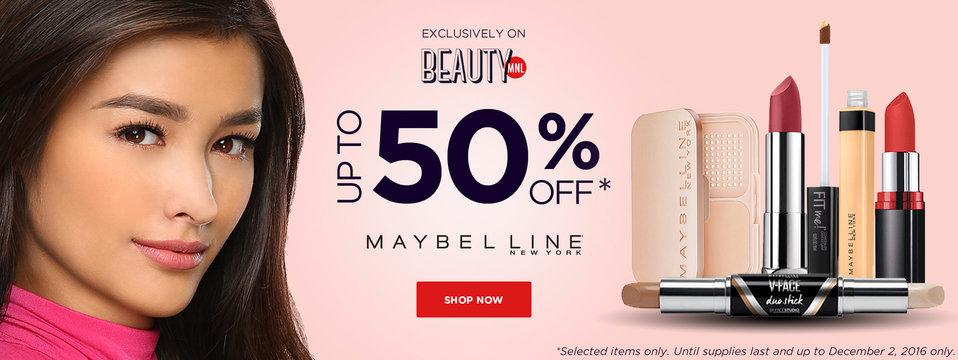 Crazy Sale: Maybelline New York