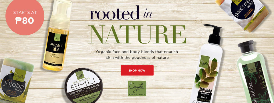 Natural Goodness: Be Organic Bath & Body
