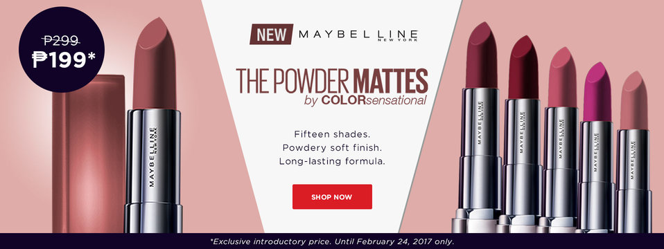 Grab it NOW!: Maybelline