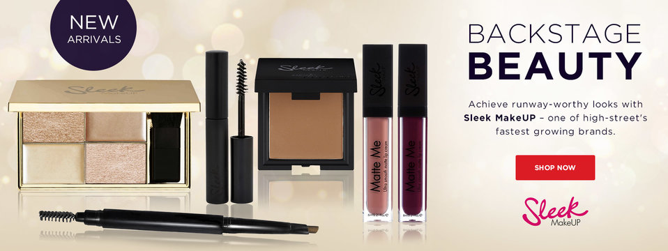 Be Sleek!: Sleek Makeup
