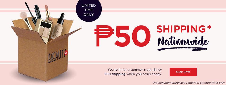 P50 Shipping: BeautyMNL