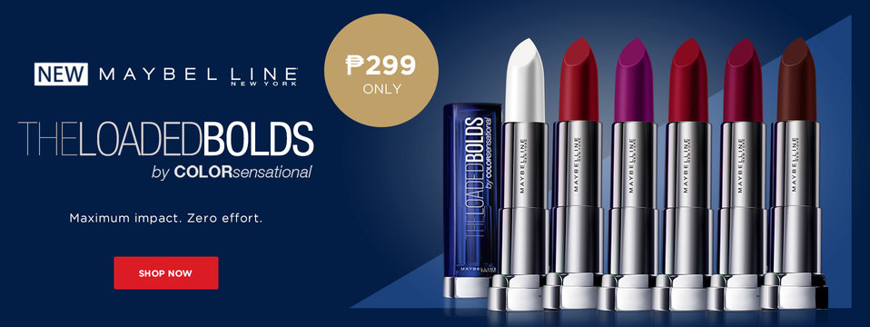 Be Bold: Maybelline