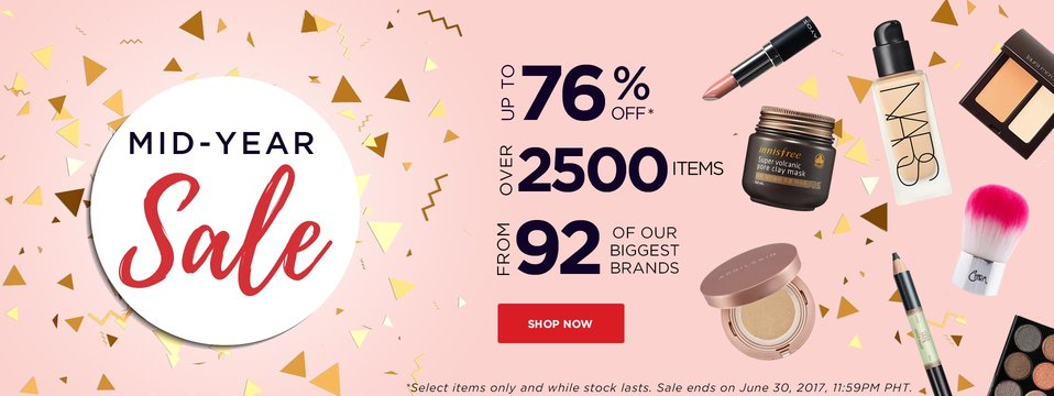 Mid-Year Sale: BeautyMNL