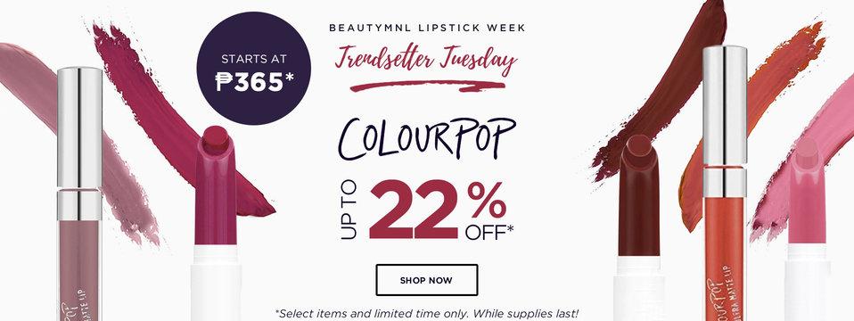 Trendsetter Tuesday: Colourpop