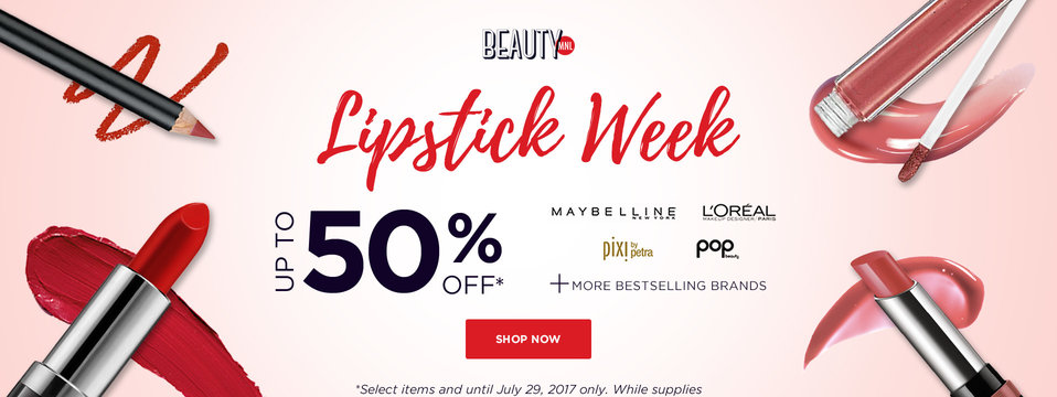 Lipstick Sale: BeautyMNL