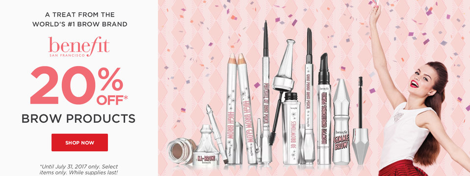 Brow Sale: Benefit