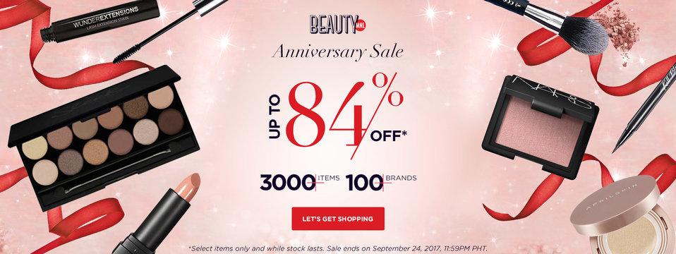 Anniversary SALE: BeautyMNL