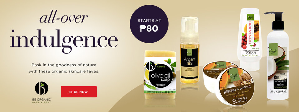 Natural Goodness: Be Organic Bath & Body