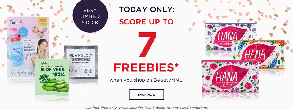 Up to 7 FREEBIES: BeautyMNL