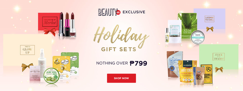 New Holiday Sets: BeautyMNL